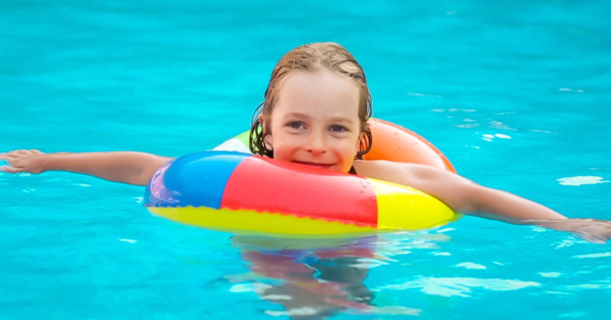 Mambobaby Swimming Baby Neck Float Ring Inflatable In