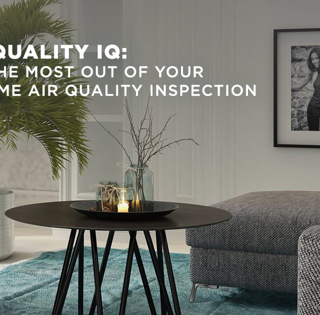 Air Quality IQ: Get the most out of your in-home air quality inspection