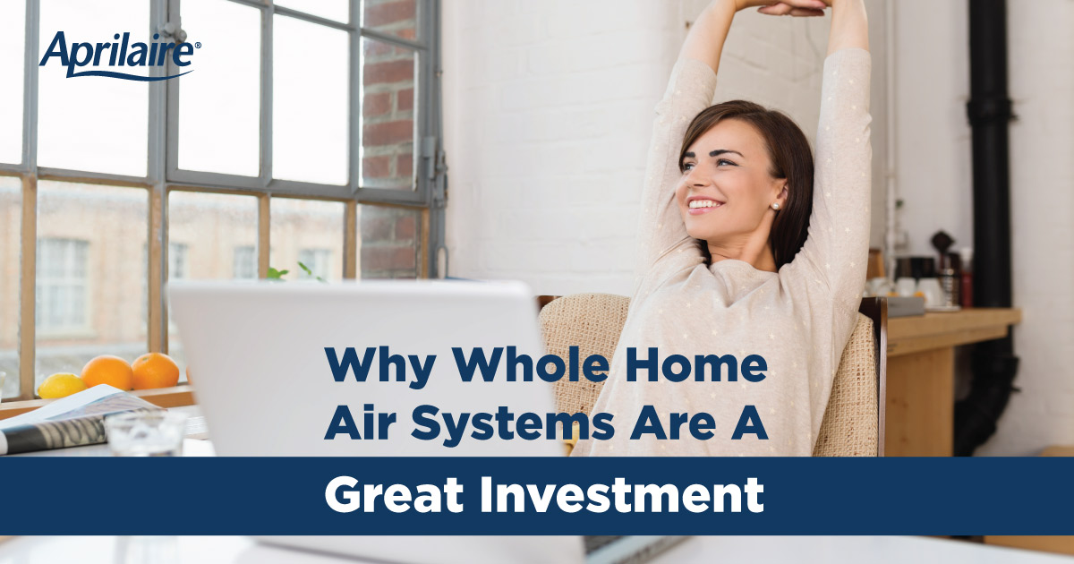 Why whole home air systems are a great investment