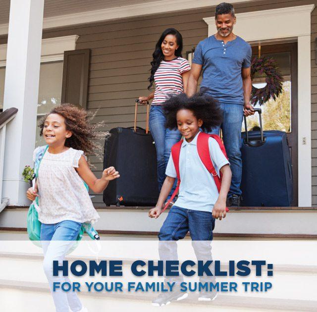 Summer Trip Checklist