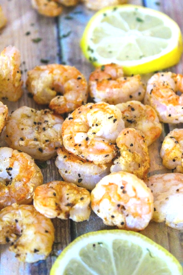 healthy air fryer recipes shrimp